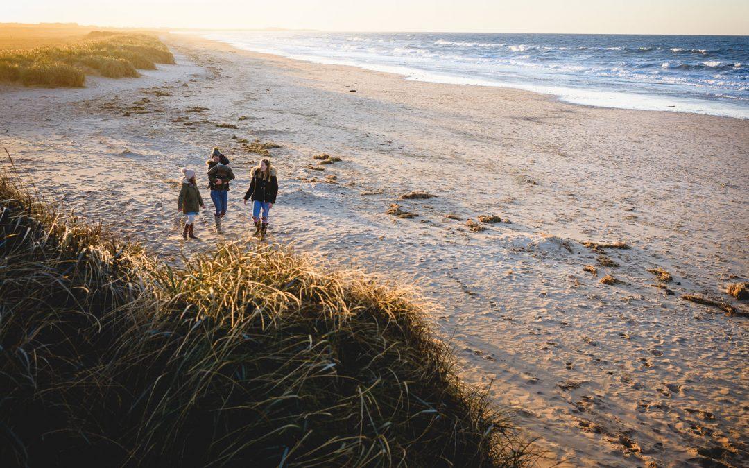 NORFOLK BEACH PHOTOGRAPHY |  EMMIe, AVIE & LUCA