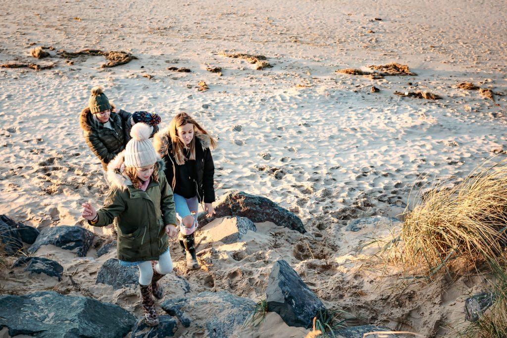 Norfolk beaches family photographer