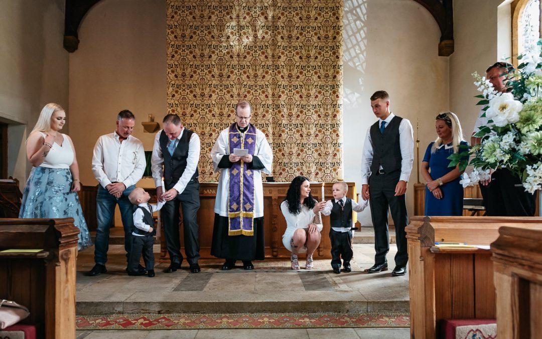NORTHAMPTONSHIRE CHRISTENING | JUNIOR & HARLEY