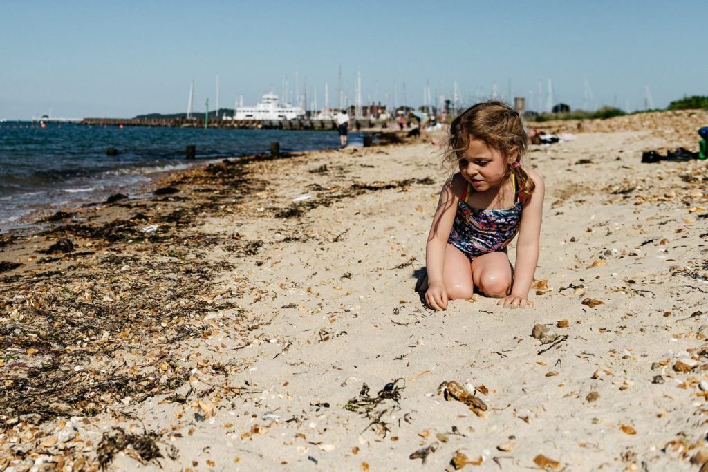 Beach days out with the kids. Unposed, natural, real life moments.